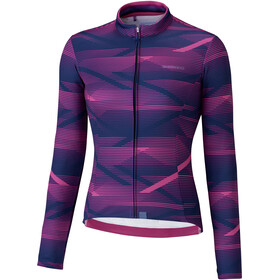 Shimano Kaede Thermische Jersey Dames, purple